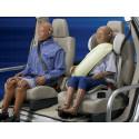 Ny undersøkelse viser:   1 av 3 risikerer livet ved ikke  å bruke bilbelte i baksetet