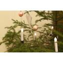 Trådlösa julgransljus ute och inomhus-miljö