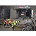 Hul igennem til ny tunnel i Stockholm