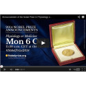 Live Webcast of 2014 Nobel Prize Announcements