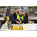 Första spadtaget för DHL:s nya anläggning i Airport City Göteborg