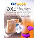 TEKGROUP's 2012 Online Newsroom Survey