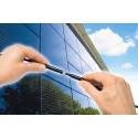 Minikontakt för fasadintegrerade solpaneler