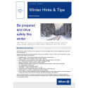 ALLIANZ ISSUES WINTER DRIVING ADVICE