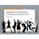 Manpower Employment Outlook Survey: Q3 2014