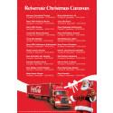 Her er oversikten over Christmas Caravan sin reiserute 2015