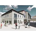Kaleido lägger grunden för kreativ kultur i Piteås nya stadskärna