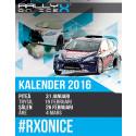 RallyX On Ice kalendern för 2016