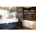 Zlatan-sviten med designat golvavlopp från unidrain®