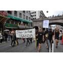 Fredagen på Stockholm Pride i solidaritetens tecken