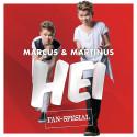 """MARCUS & MARTINUS slipper """"fan-spesial"""" med bok og seks nye låter!"""