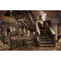 Vindstrappan av drivved på Stora Hotellet Umeå av Stylt Trampoli, utsett till världens bästa nya boutiquehotell 2014 i World Boutique Hotel Awards