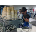 Swedish coffee strikes Google's fancy