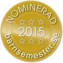 Nominerade till Stora Barnsemesterpriset 2015