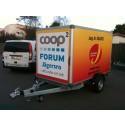 Gratis släpvagnar hos Coop Forum Jägersro
