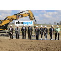 ebm-papst bygger nytt logistikcenter i Hollenbach