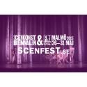 Scenfest 26-31 maj i Malmö. I dag den 7 april släpper vi biljetterna till Scenfest.