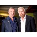 Sir Richard Bransons svenska rymdläkare släpper låten Dr Space