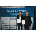 Vinnarna på seminariet Sport & Pengar 2015