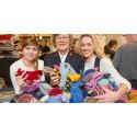 Hjemmestrikkede sokker gir rusavhengige arbeid