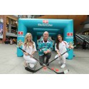Inflatable fun with the Stena Line Belfast Giants