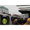 Sporveien testkjører ekstra tog på T-banen med prosjektnavnet «åttende toget»