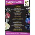 Programfolder Kulturnatten 22 maj 2015