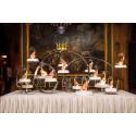 Pop Rocks möter sofistikerat hantverk i prins Carl Philips och prinsessan Sofias bröllopstårta