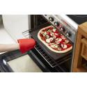 Hål i pizzamattan gör pizzan extra krispig