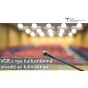 VGR:s nya kulturnämnd utsedd av fullmäktige