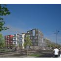 Veidekke bygger kvarteret Klyvaren åt Vita Örn