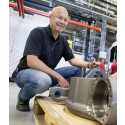 Anders Jonsson i fabriken