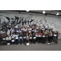 Diplomoverrækkelse: Unge skal skabe leg på gaden