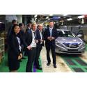 Cars come to life at Hyundai Motor Company