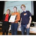 Vinnare Trafikverkets pris Bästa trafiklösning Galären Dator och Teknik, Karlskrona