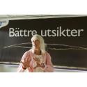 Carina Wutzler presenterar Vellinge kommuns nya devis. Foto: Lars Strandberg