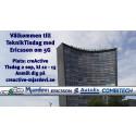 Tekniktisdag med Ericsson om 5G mobile access systems