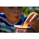 Frukt med Safari yoghurt som dip
