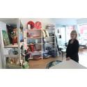 Pernilla Eriksson i ny butikslokal i Lindesberg