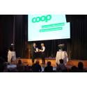 Coop vinner pris för årets insats inom hållbart varumärkesbyggande
