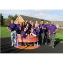 Sheffield employees make garden flourish at Bluebell Wood Children's Hospice