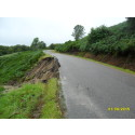 Storm damaged road reopens