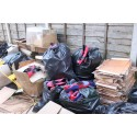 Op Ugly Discarded coverload of clothes NW13/15 Salford couple jailed for £3.8m tobacco duty fraud