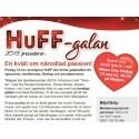 HuFF-galan 13 nov 2015 på Radjos. Fåtal platser kvar!