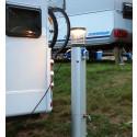 Uppkopplade stolpar ger campinggäster avkoppling