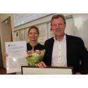 Nordea Banking Sweden tilldelades Anna-priset för bästa jämställdhetsarbete 2014
