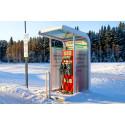 Laddstationer för elbilar till Västerbotten