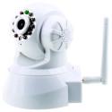 Fjärrstyr denna WiFi-Övervakningskamera och håll koll via telefon eller datorn.