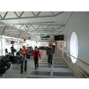 Over tre prosent økning i utlandstrafikken