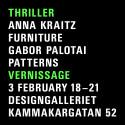 Thriller på Designgalleriet, Stockholm